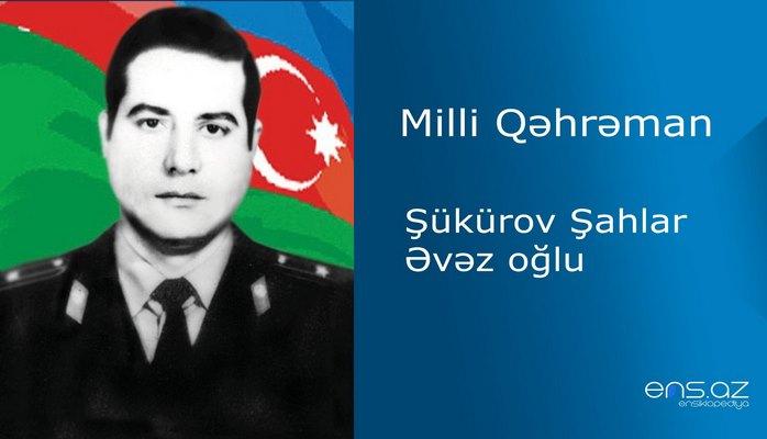Şahlar Şükürov Əvəz oğlu