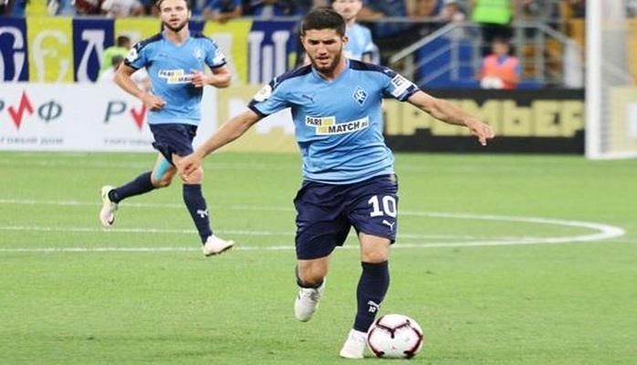 Azərbaycanlı futbolçu Rusiya klubundan ayrıldı