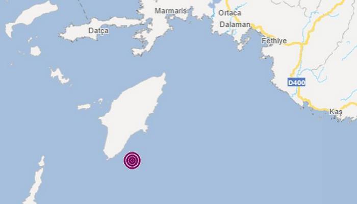 Son dakika haberler: Akdeniz'de 4.4 büyüklüğünde deprem