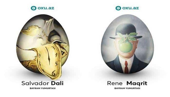 Как знаменитые художники раскрасили бы праздничные яйца