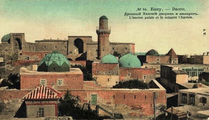 Цветные открытки Баку конца XIX – начала ХХ века (ФОТО) – часть 1