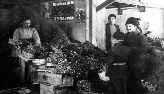 История Александро-Невских рядов (Пассаж базары) в Баку (ФОТО)