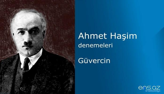 Ahmet Haşim - Güvercin