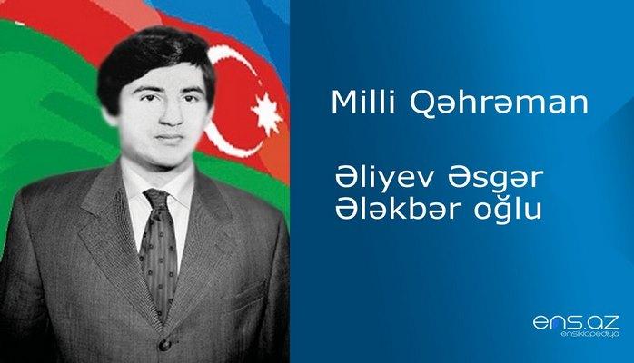 Əsgər Əliyev Ələkbər oğlu