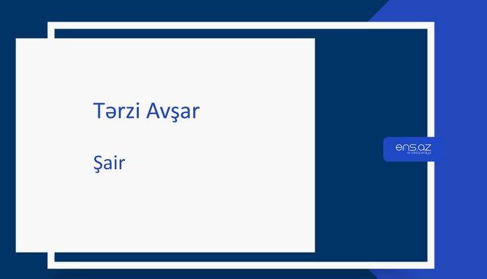 Tərzi Avşar