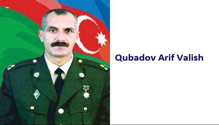 Qubadov Arif Valish