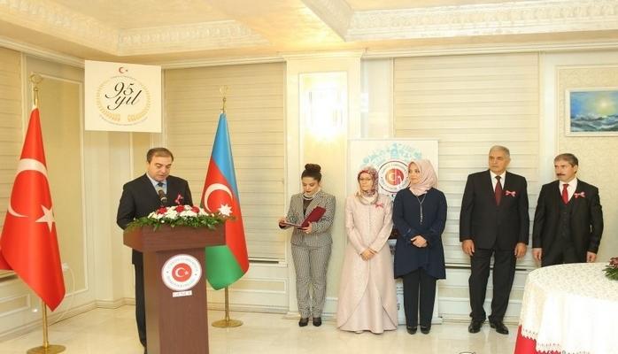 Gəncədə Türkiyənin Cümhuriyyət bayramı qeyd edilib