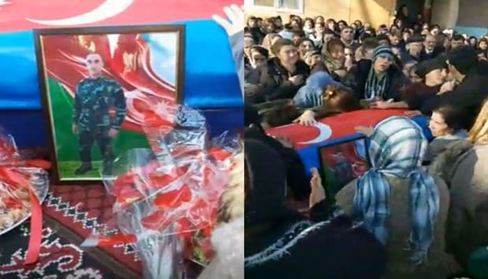 Азербайджан прощается с героем-пограничником Ибрагимом Велиевым