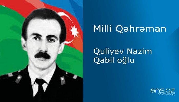 Nazim Quliyev Qabil oğlu