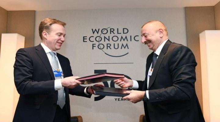 В Азербайджане откроется региональный центр Всемирного экономического форума