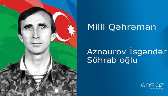 İsgəndər Aznaurov Söhrab oğlu