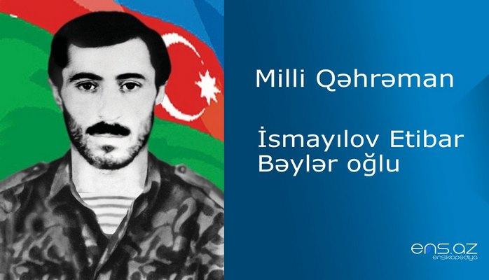 Etibar İsmayılov Bəylər oğlu