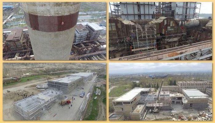 ТЭС «Азербайджан» в Мингячевире восстанавливается