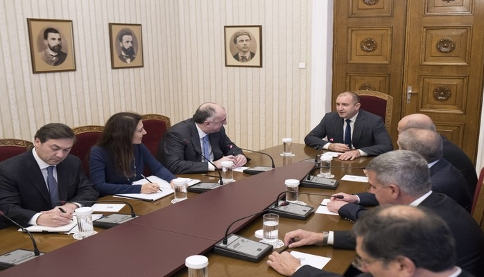 Elmar Məmmədyarov Bolqarıstan Prezidenti ilə görüşüb