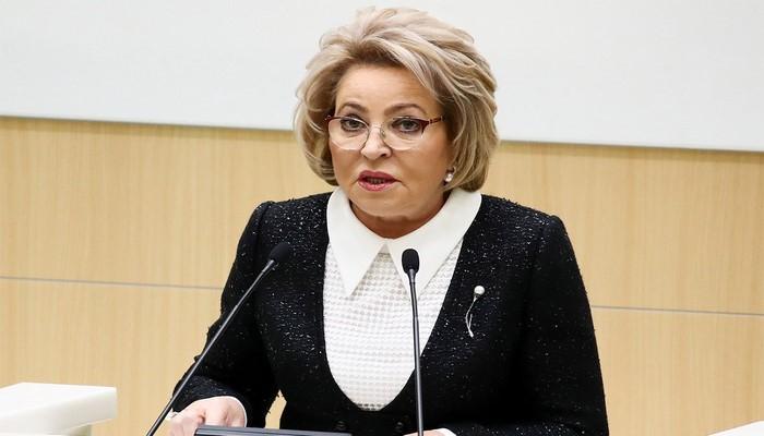 Делегация Совета Федерации России во главе с Валентиной Матвиенко прибыла в Азербайджан