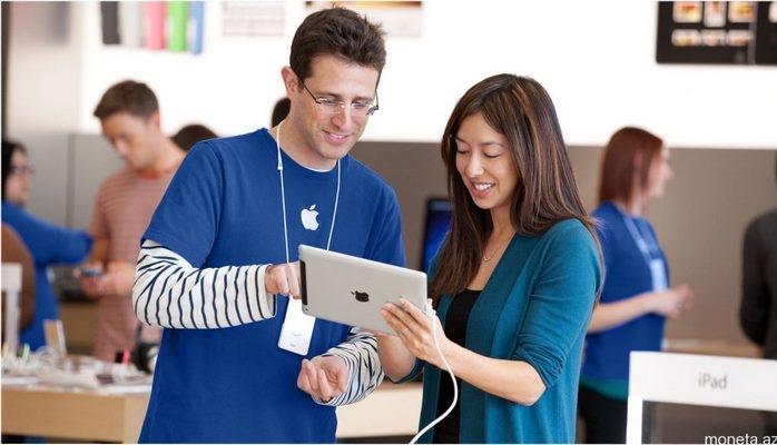 """""""Apple"""" İşçilərinin Maaşları Nə Qədərdir?"""