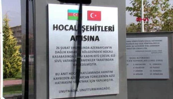 В Кайсери открылся памятникам жертвам Ходжалы