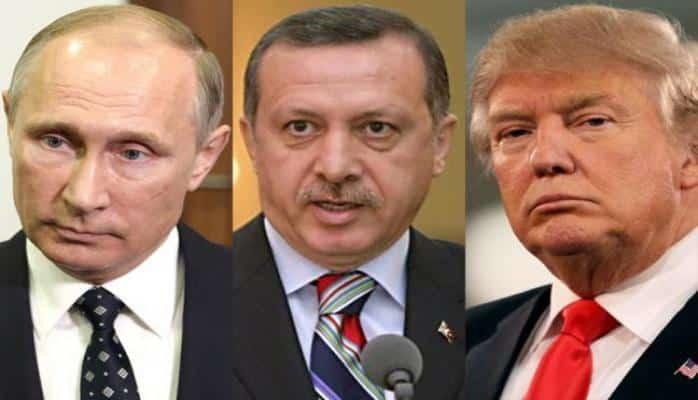 Ərdoğan Trampla telefon söhbətinin detallarını Putinə danışdı