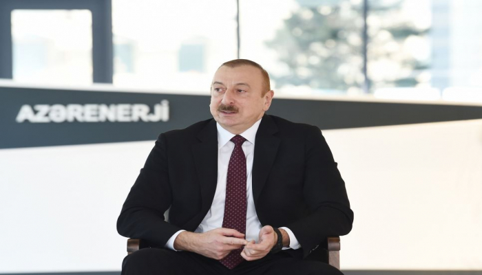 Президент Ильхам Алиев: Азербайджан находится на втором месте в мире по индексу доступности электроэнергии