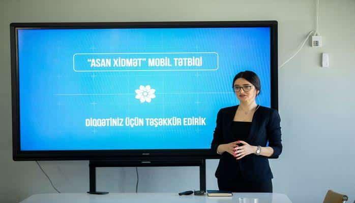 """""""ASAN xidmət"""" mobil tətbiqi istifadəyə verilib"""