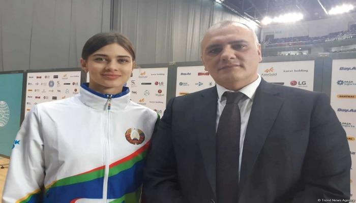 Белорусская гимнастка стала лицом азербайджанского бренда SmartScoring
