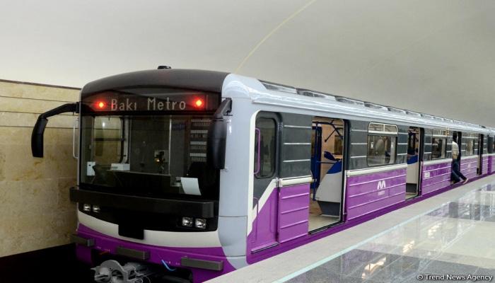 В Бакинском метрополитене восстановлено движение поездов