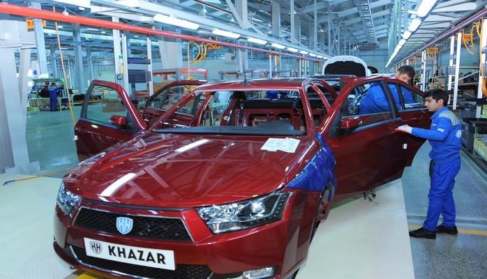Автомобили Khazar в этом году будут экспортироваться в Украину