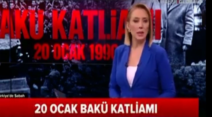 """""""20 Yanvar"""" Türkiyə televiziyasında"""