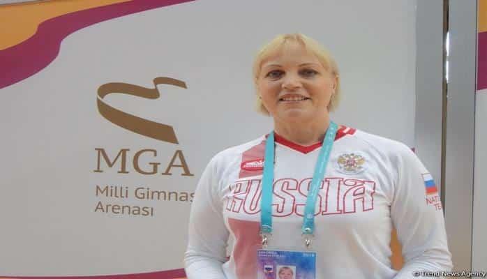 Сборную Азербайджана по аэробной гимнастике тренирует специалист высокого класса – российский тренер