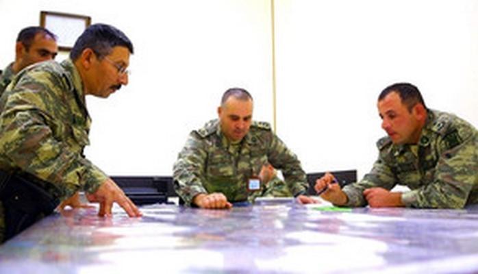В войсках Азербайджанской армии проводятся мероприятия по боеподготовке