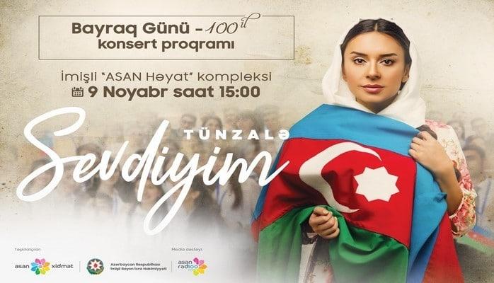 В комплексе ASAN Həyat в Имишли состоится концерт