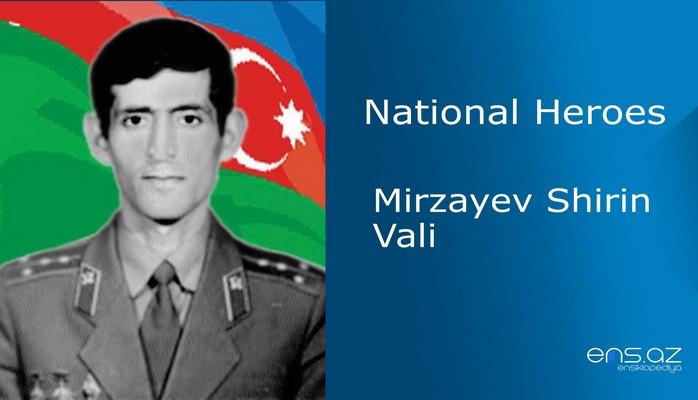 Mirzayev Shirin Vali