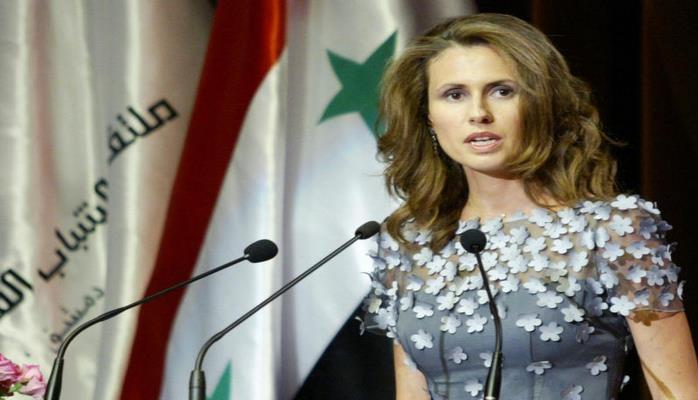 Жена Асада опубликовала первое фото после начала курса химиотерапии