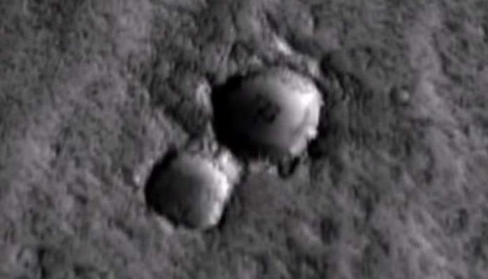 Уфологи: На южном полюсе Марса обнаружены «купола инопланетян»