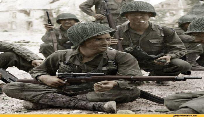 Зачем нужна была сетка на касках американских солдат?