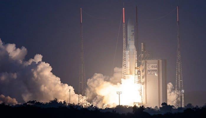 С космодрома Куру произвели запуск ракеты Azerspace-2