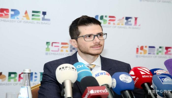 Посол Израиля: Мы плечом к плечу с Азербайджаном в дни трагедии
