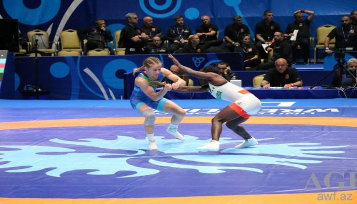 Азербайджанская борчиха завоевала лицензию на олимпиаду