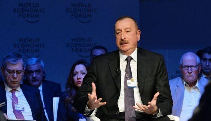 Президент Азербайджана выступит на Давосском форуме