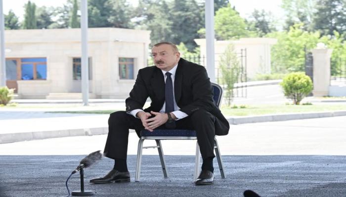 Президент Ильхам Алиев: Позиция, которую сегодня международные организации демонстрируют в связи с нагорно-карабахским конфликтом, отражает истину и справедливость