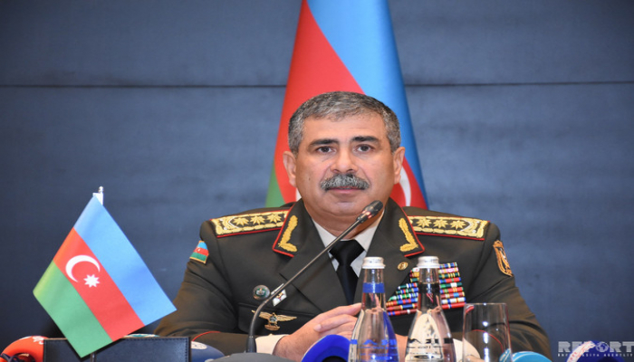 """Zakir Həsənov Azərbaycan tankçılarının """"Beynəlxalq Ordu Oyunları - 2019""""da iştirakını yüksək qiymətləndirib"""