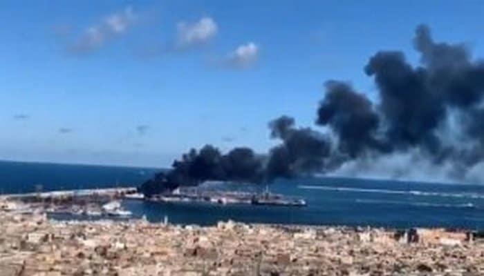 Haftarın ordusu Türkiyə gəmisini vurdu