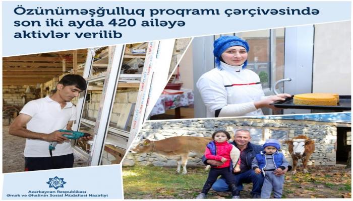 В Азербайджане в этом году к программе самозанятости привлечено до 4500 человек