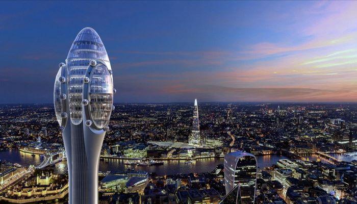 Одобрен проект строительства 305-метрового небоскреба в Лондоне