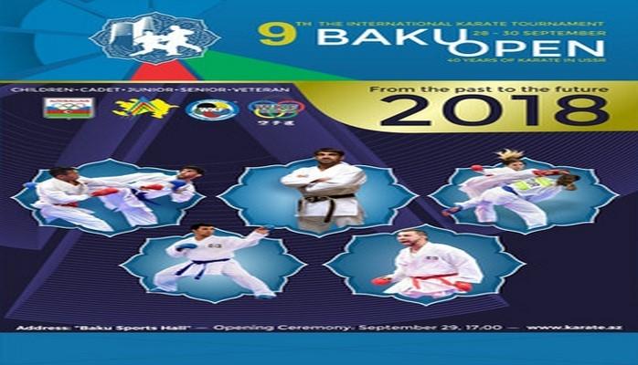 """Karate üzrə """"Baku Open"""" turniri keçiriləcək"""