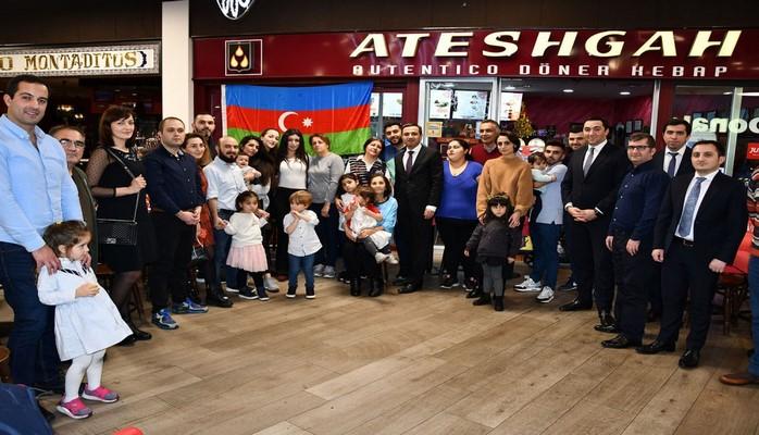 В Мадриде отмечен День солидарности азербайджанцев мира