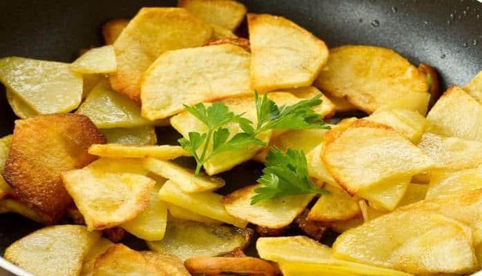 Какправильно жарить картошку