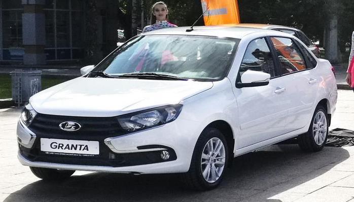 LADA Granta лидирует в рейтинге самых дешевых автомобилей