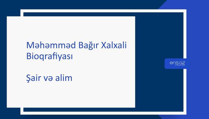 Məhəmməd Bağır Xalxali