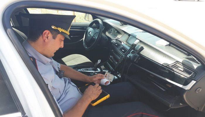 Yol polisi Bakıda reyd keçirir